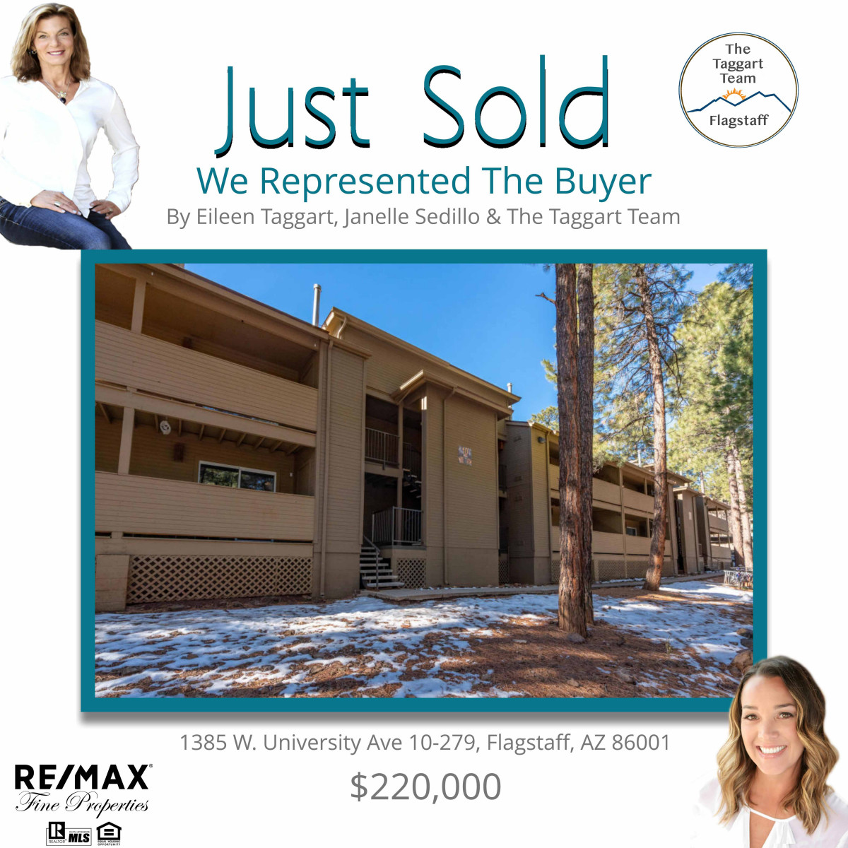 1385 W. University Ave. 10-279 Just Sold