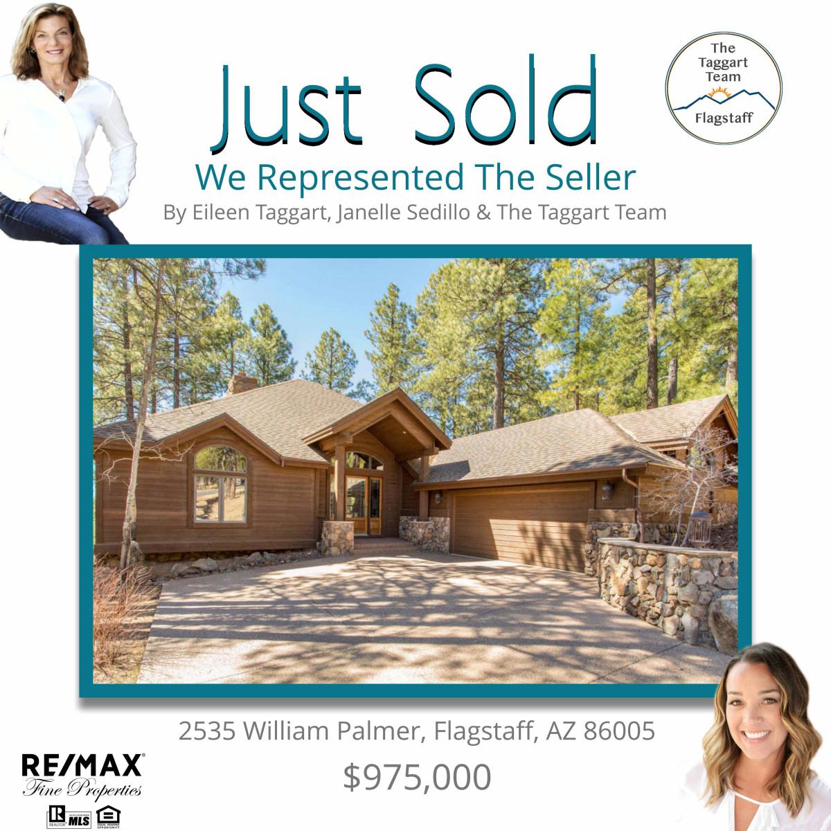 2535 William Palmer Just Sold