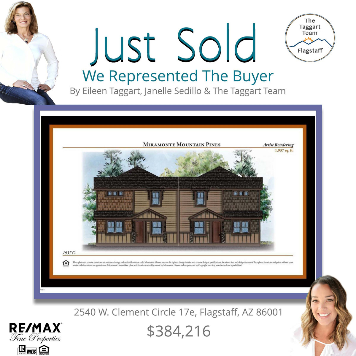 2540 W. Clement Cir 17e Just Sold