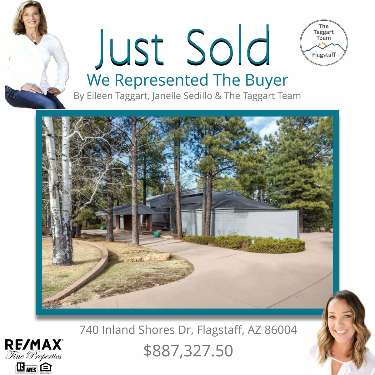740 Inland Shores Dr. Just Sold
