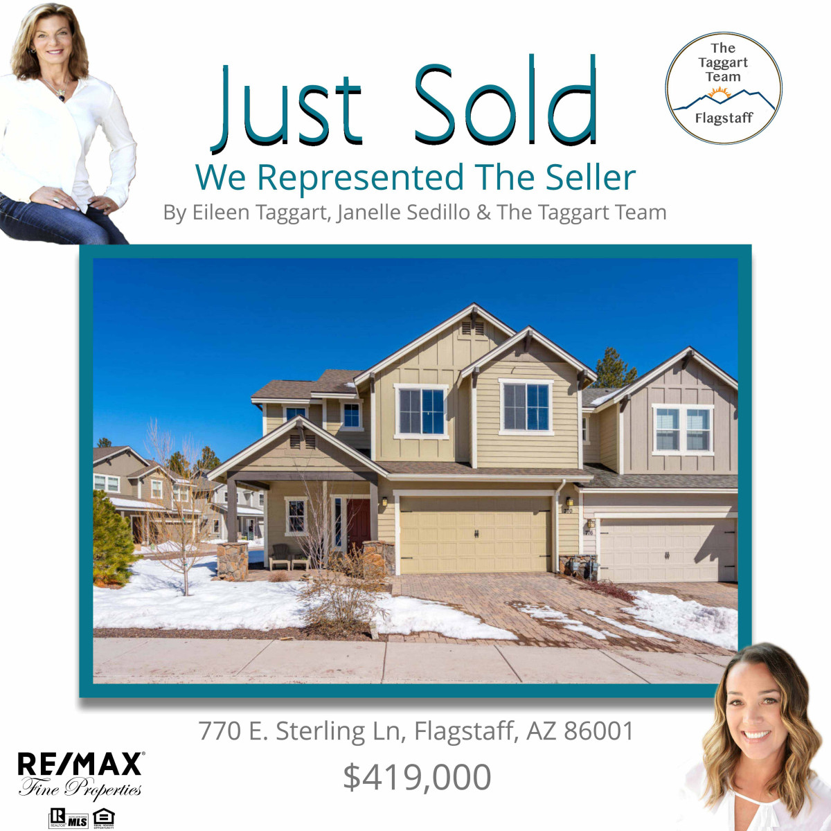 770 E. Sterling Ln. Just Sold